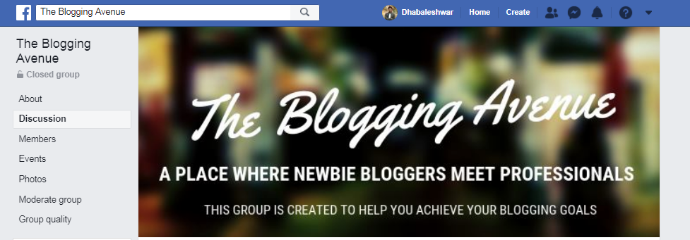 the blogging avenue by dhabaleshwar das facebook group